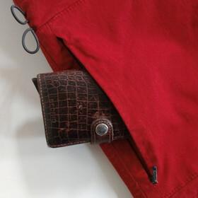Nihil Lemur Pantaloni Donna, red lava
